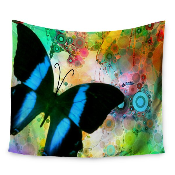 Colorful Blue by alyZen Moonshadow Wall Tapestry by East Urban Home