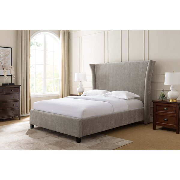 Skaggs Upholstered Standard Bed by Everly Quinn