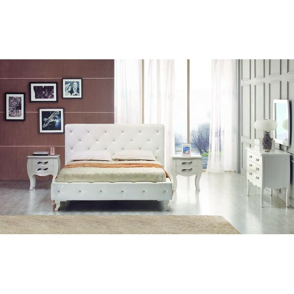 Owen Twin Upholstered Platform Bed by Rosdorf Park