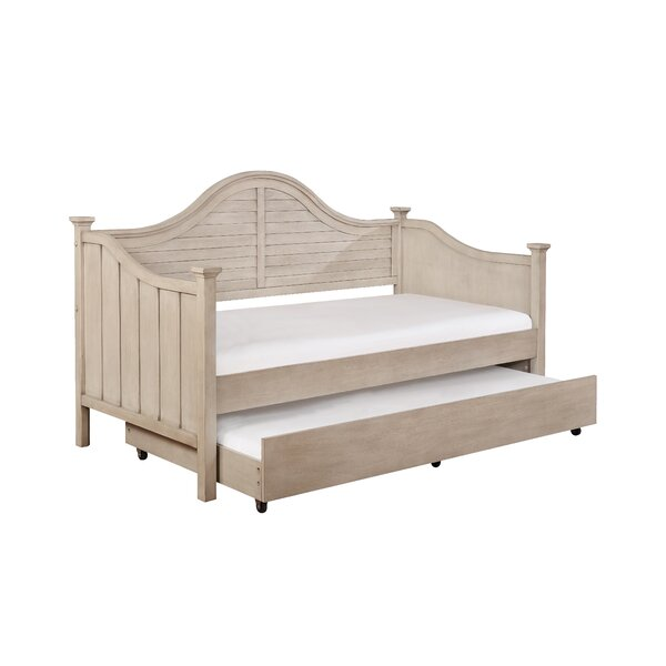Dudley Day Bed with Trundle by Rosecliff Heights