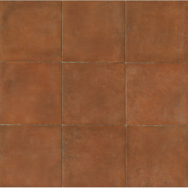 Cotto Nature 14 x 14 Porcelain Field Tile in Matte Sicilia by Bedrosians