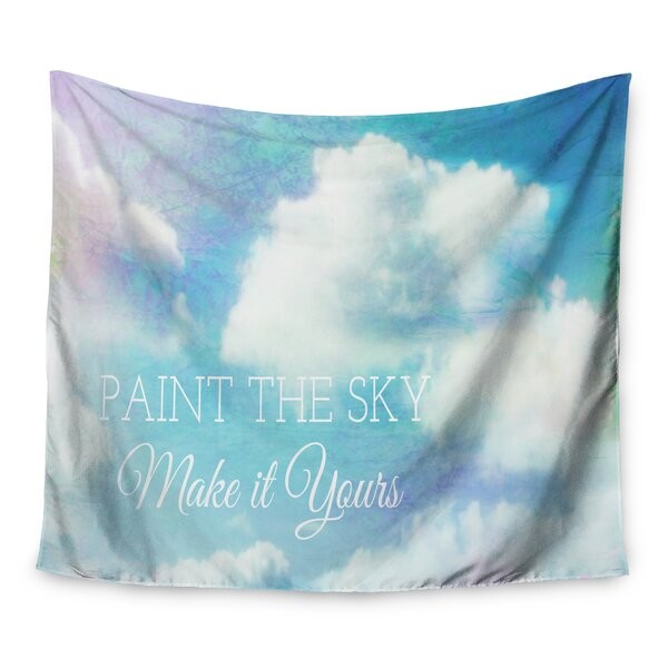 Paint the Sky! by Alison Coxon Wall Tapestry by East Urban Home