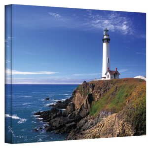 'Pigeon Point Lighthouse' Photographic Print on Canvas by Breakwater Bay