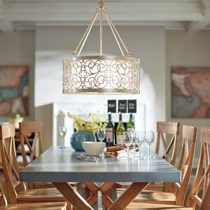 Barrigan 4-Light Drum Chandelier
