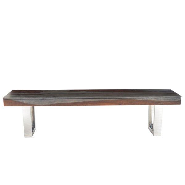 Napoli Wood Bench by Brayden Studio Brayden Studio