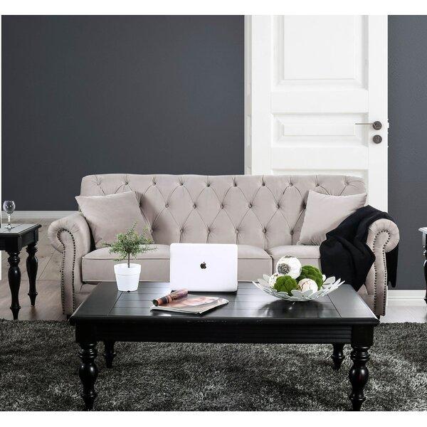 Warkworth Modern Victorian Sofa by Canora Grey