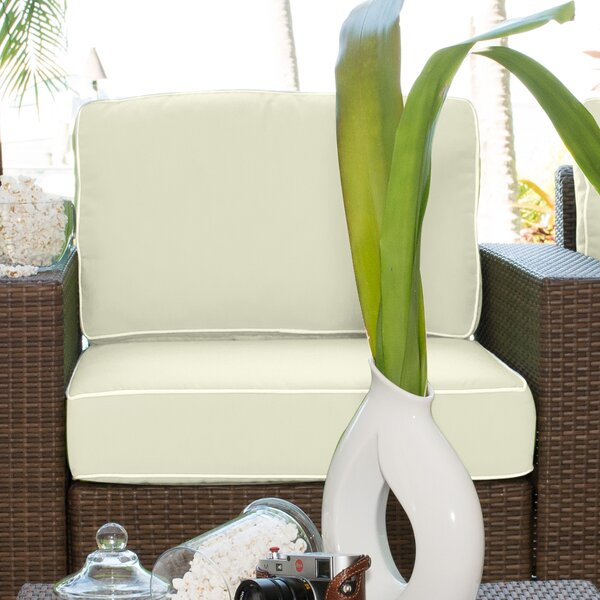 Key Biscayne Armless Chair by Panama Jack Outdoor