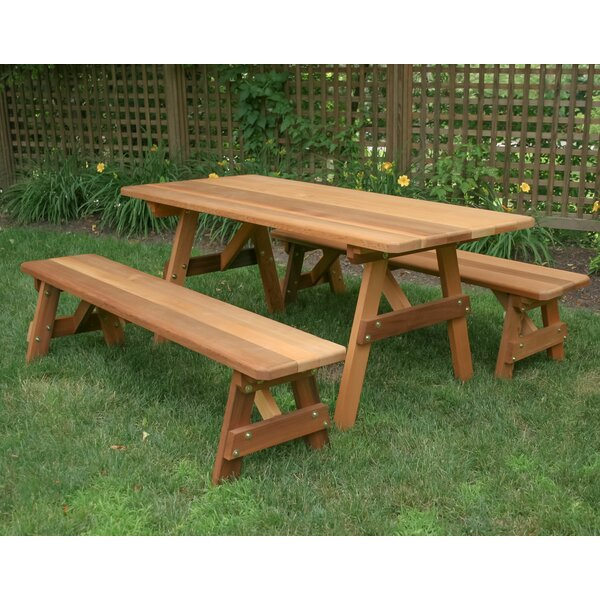 Fortney 3 Piece Dining Set by August Grove