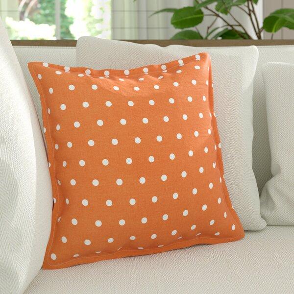 Kylie Linen Throw Pillow by August Grove