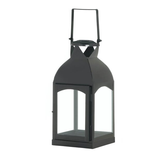 La Domed Iron and Glass Lantern by Zingz & Thingz