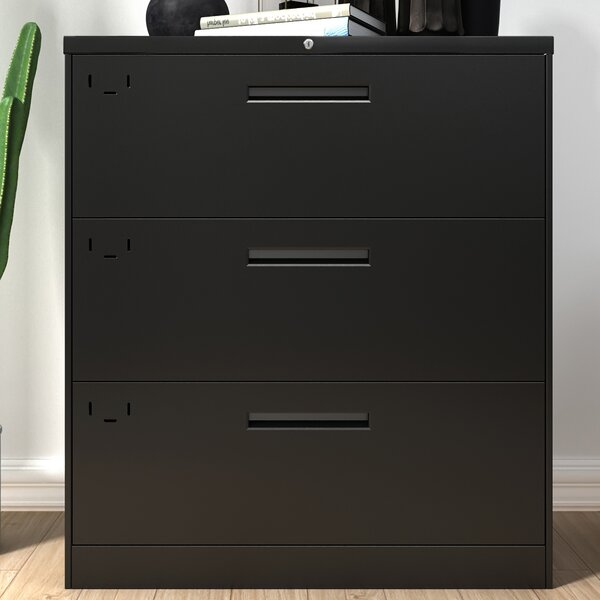 3-Drawer Lateral File Cabinet