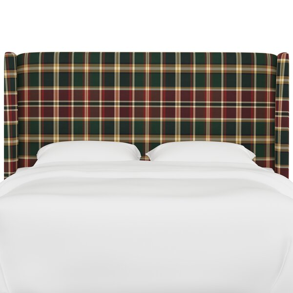 Frith Upholstered Wingback Headboard by August Grove