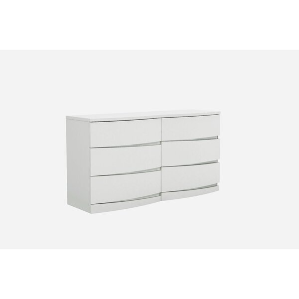 Emely 6 Drawer Double Dresser by Orren Ellis