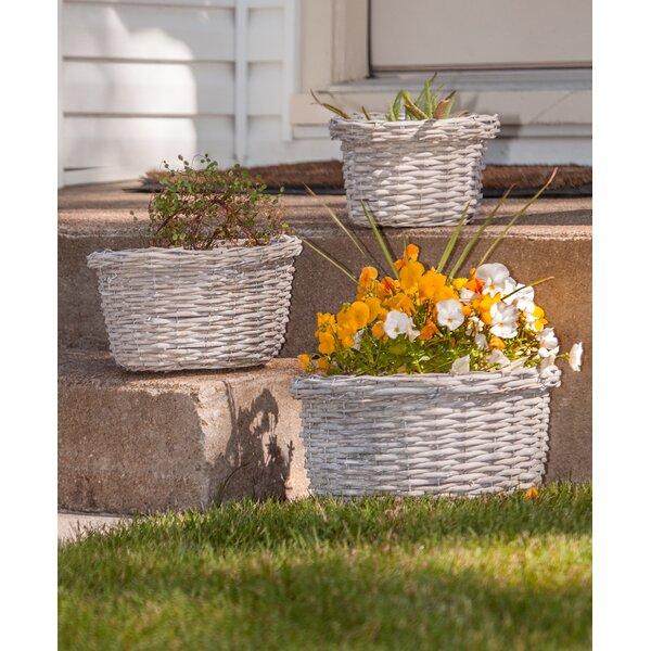 Showunmi 3-Piece Basket Pot Planter Set by Highland Dunes
