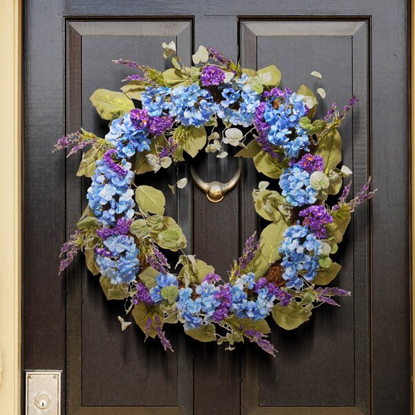 Spring 32 Hydrangea Wreath By National Tree Co.