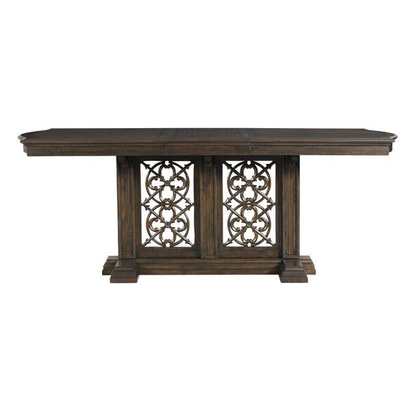 Alcantara Counter Height Extendable Dining Table by Alcott Hill Alcott Hill