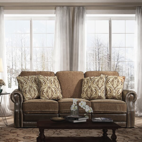 Eleanor Reclining Sofa by Fleur De Lis Living