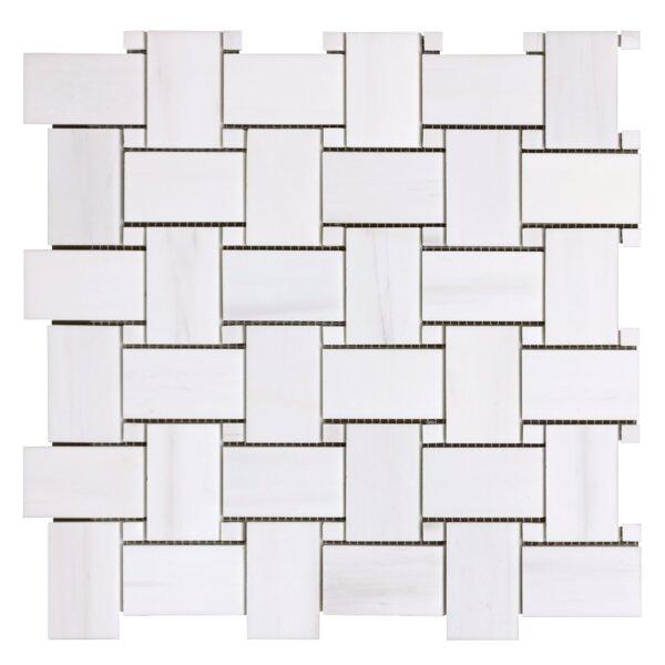 Bianco Dolomite 1.5 x 3 Marble Mosaic Tile