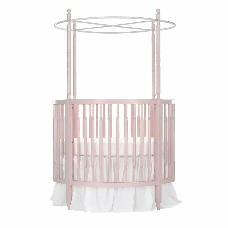 Sophia Posh Circular Crib  sc 1 st  Wayfair & Dream On Me Sophia Posh Circular Crib u0026 Reviews | Wayfair