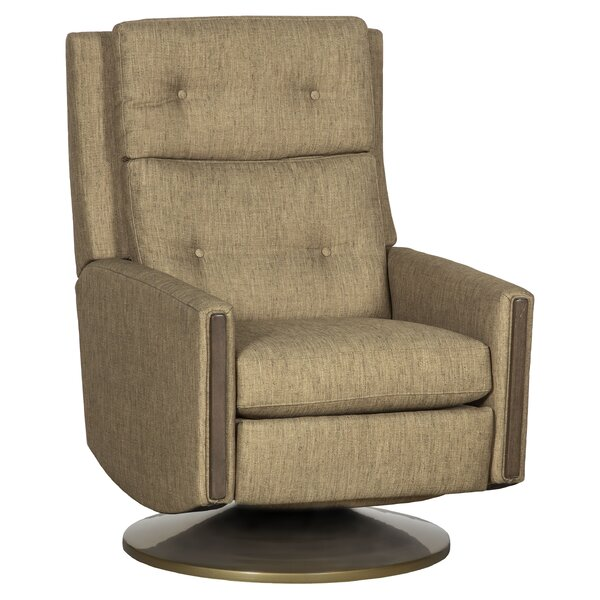 Loft Leather Power Swivel Recliner by Fairfield Chair Fairfield Chair
