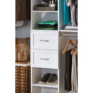 Inexpensive SuiteSymphony 15.38 W x 10 H x 13 D Drawer By ClosetMaid