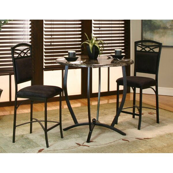 Jacob 3 Piece Counter Height Dining Set by Latitude Run Latitude Run
