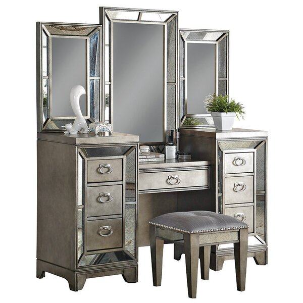 Roxie Vanity with Mirror by Willa Arlo Interiors