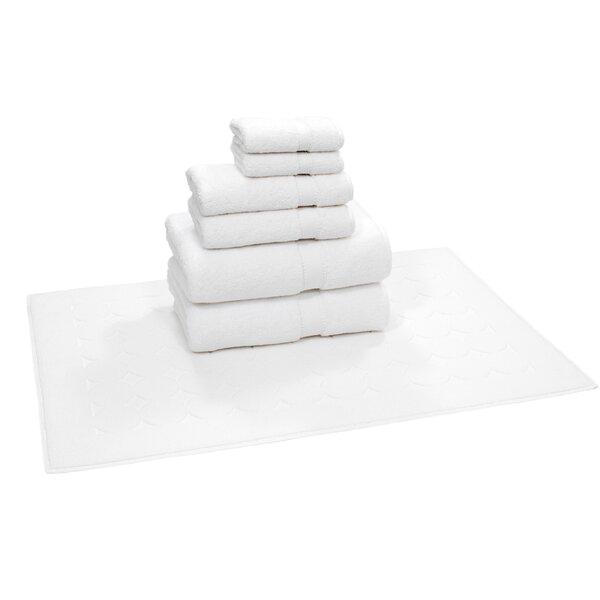 Toscano 7 Piece Turkish Cotton Towel Set by Latitude Run
