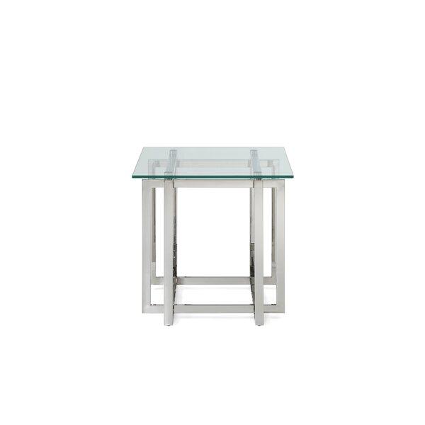 Goldmann Modern End Table by Orren Ellis