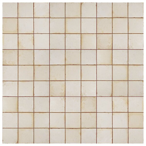 Rioja 13 x 13 Ceramic Field Tile in Beige/Orange by EliteTile
