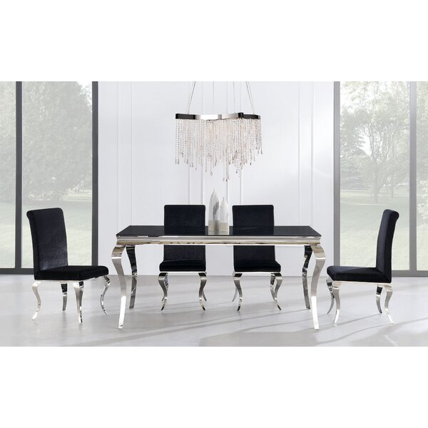 Wellings 5 Piece Dining Set by Orren Ellis