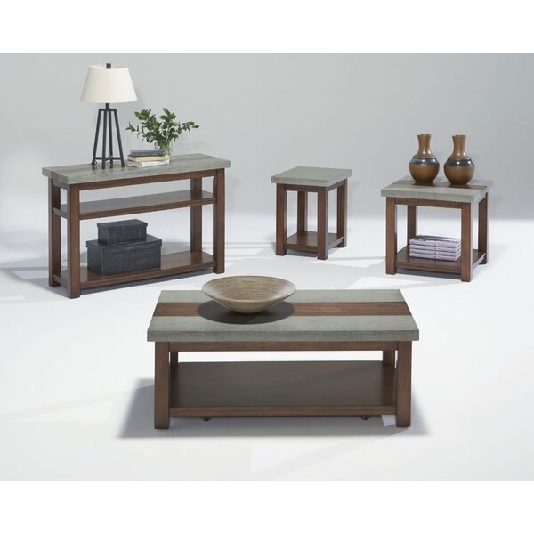 Nikole 4 Piece Coffee Table Set by Union Rustic