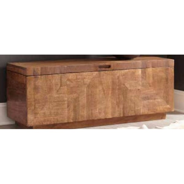 Latta Wood Storage Bench by Bloomsbury Market