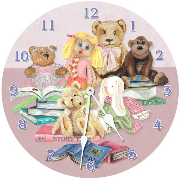 18 Story Time Wall Clock by Lexington Studios