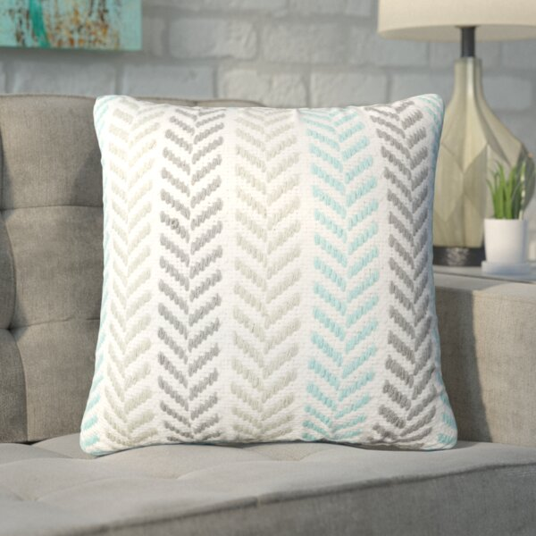 Mcpherson Square Cotton Pillow Cover & Insert