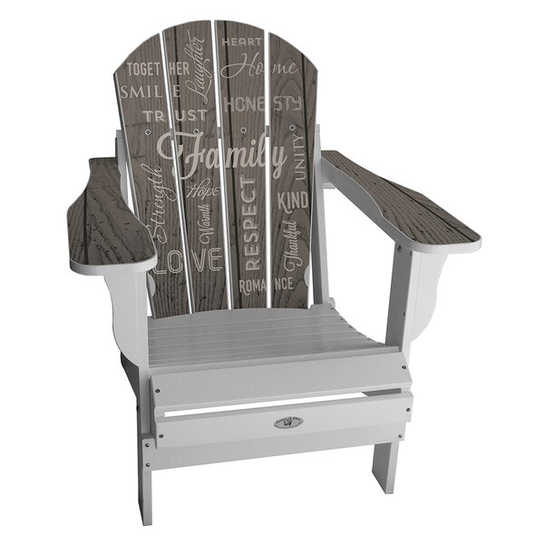 Kennon Plastic Folding Adirondack Chair by Latitude Run