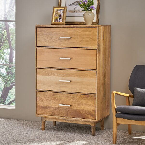 Kissling 4 Drawer Chest by Union Rustic