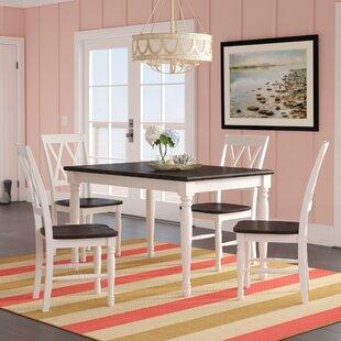 Kivalina 5 Piece Extendable Dining Set