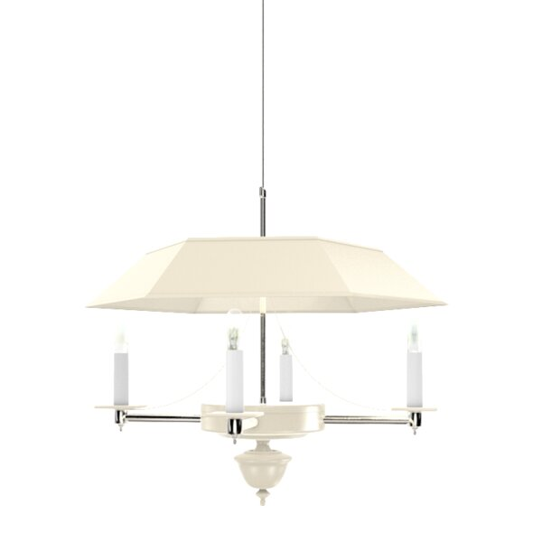 Fairfield 4 - Light Unique / Statement Geometric Chandelier by Oomph Oomph
