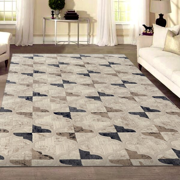 Norwich Bone Area Rug by Charlton Home