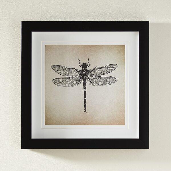 Dragonfly Framed Print by Birch Lane™