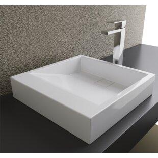 Clearance Rectangular Vessel Bathroom Sink ByCantrio Koncepts