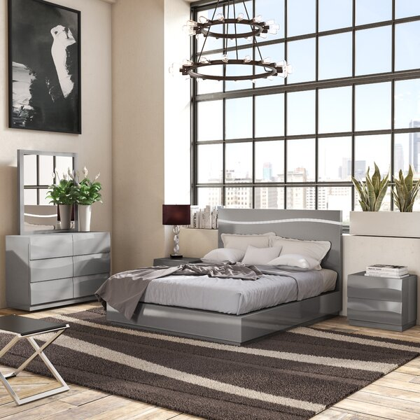 Moumoune Platform 5 Piece Bedroom Set by Orren Ellis