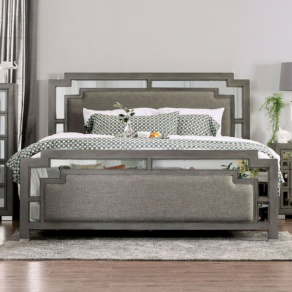 Pescadero Upholstered Standard Bed by Rosdorf Park
