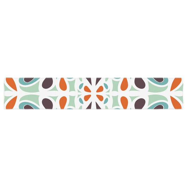 Miranda Mol Stained Glass Table Runner by East Urban Home