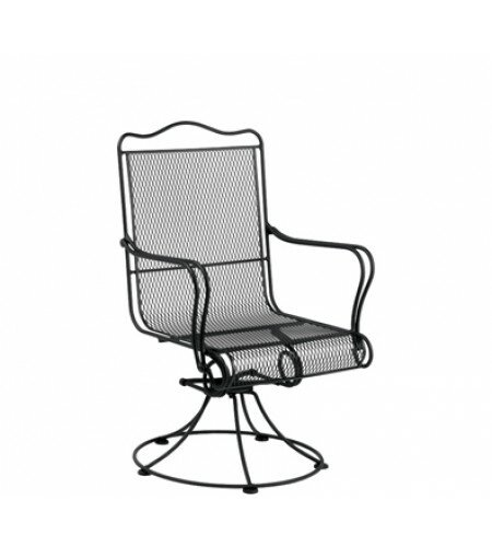 Tucson Swivel Patio Dining Chair by Woodard