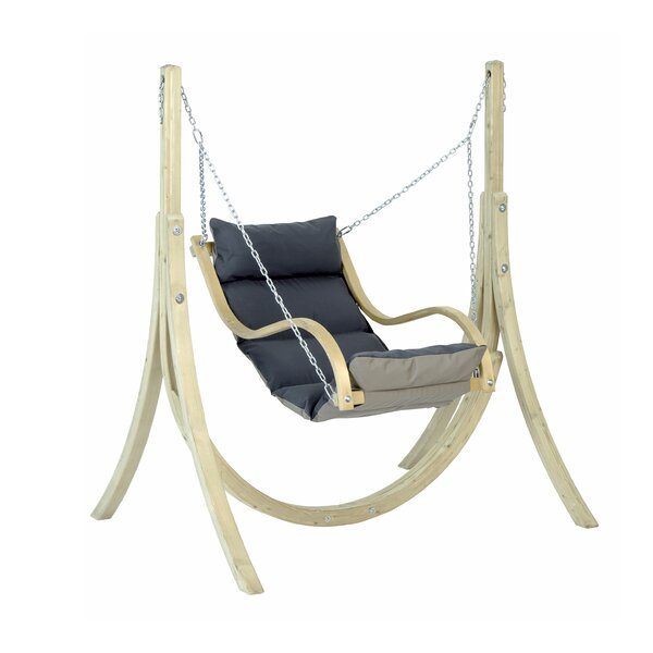 Spurling Porch Swing with Stand by Highland Dunes