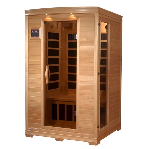 Luxury Series 2 Person FAR Infrared Sauna by Dynamic Infrared
