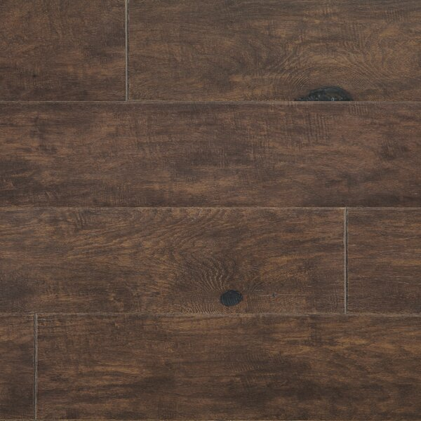 Rock Creek Plank 6-1/3 Engineered Oak Hardwood Flooring in Bear by Mannington