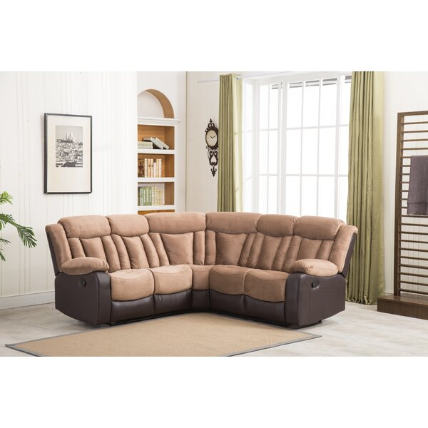 Free Shipping Esme Symmetrical Reclining Sectional